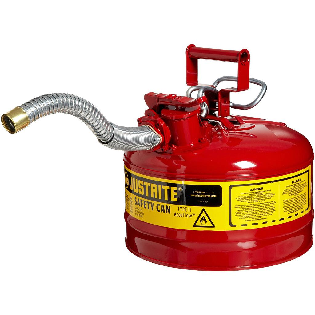 Justrite Safety Cans